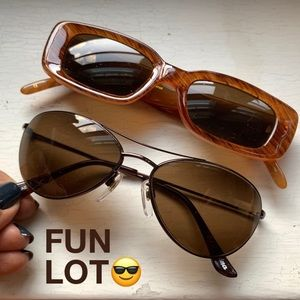 Fun Lot of 2 Party Sunglasses